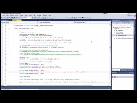 How to Use LibSVM (Support Vector Machine) in C#