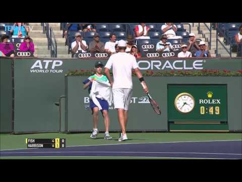 Indian Wells 2015 Thursday Hot Shot Fish Harrison