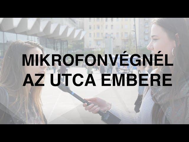 Mikrofonvégnél az utca embere - EP-választás | Jövő TV
