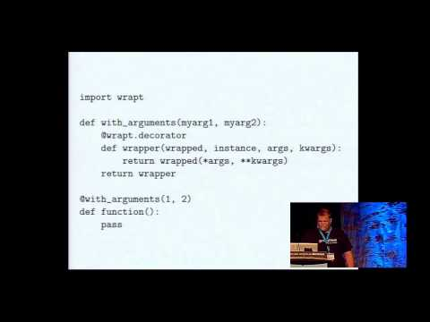Colton Myers: Decorators: A Powerful Weapon in your Python Arsenal - PyCon 2014