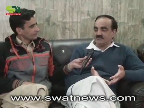 District Nazim Swat Interview by Swatnews.com