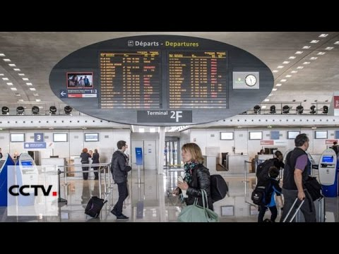 20% of flights cancelled after industrial action in France