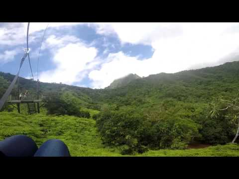 zip-lining-at-jurassic-world-in-oahu-hawaii-kualoa-ranch