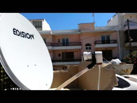 Satellite TV in your car (The Greek Way)