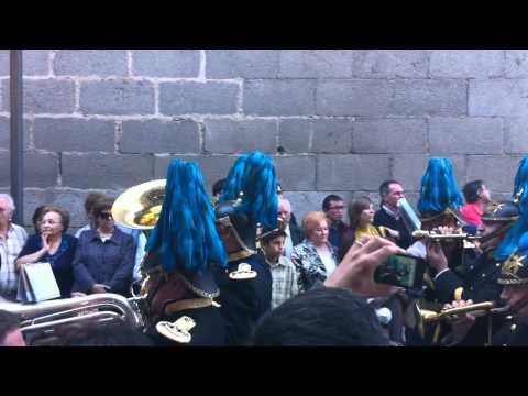 B.C.T. Amarrao (Avila) Procesión Santa Teresa Avila 15-10-11