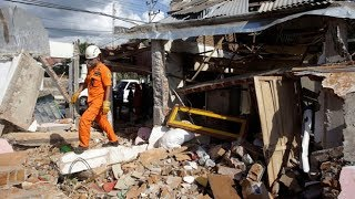 Earthquake in Indonesia leaves 105 people dead in Lombok and Bali