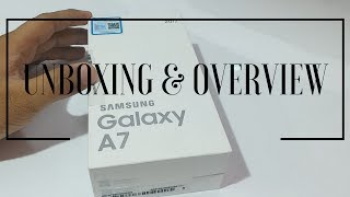 Samsung Galaxy A7 (2017) - Unboxing & Overview