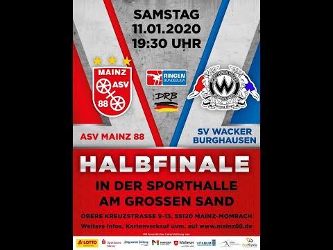 ASV Mainz 88 Vs. SV Wacker Burghausen, 11.01.2020