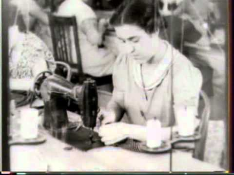 Sweatshops and Home Work in the Dress Industry 1938 The Wome