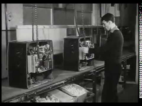 HOW ITS MADE 1950S TELEVISION & RADIO FACTORY FERGUSON THORN EMI