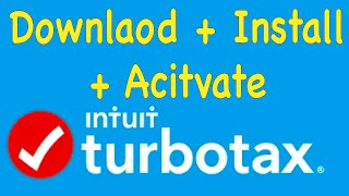 Turbotax download, install & activation after purchasing from online store Costco, BJs, SamsClub