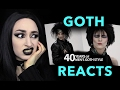 Goth Reaction To 40 Years of Men's Goth Style
