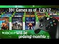 Every Backwards Compatible Xbox 360 Game Playable On XBox One as of July 2, 2017