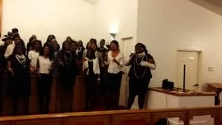Jasmine McClover & FAMU Gospel Choir - His blood still works