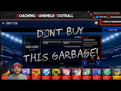 DON'T WASTE MADDEN CASH ON THIS TRASH!!!