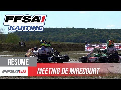 Meeting FFSA Karting - Les moments forts de Mirecourt