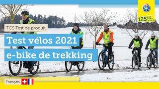 Test de 10 vélos électriques de trekking (2021) | autonomie, freins & batterie
