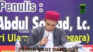 Download Mp3 Dzikir Pagi Dan Sore Yg Diajarkan Ustadz Abdul Shomad