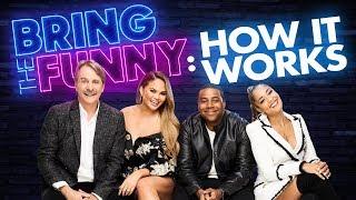 Chrissy Teigen, Kenan Thompson, Amanda Seales & Jeff Foxworthy Explain Bring The Funny (Exclusive)