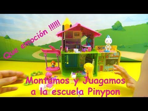 ❤️Pinypon || Escuela Pinypon. Montamos La Escuela!!!! ❤️