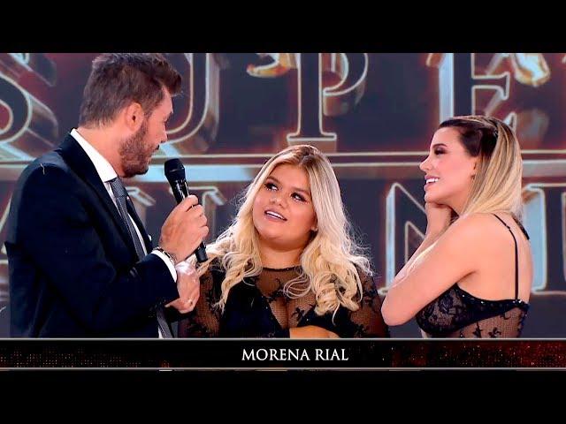 Charlotte Caniggia llegó con Morena Rial a la pista y hablaron sin filtro de todo