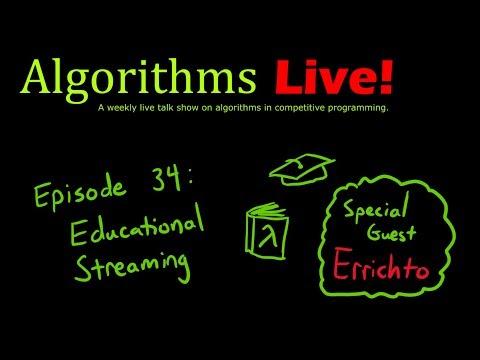 Episode 34 - Educational Streaming w/ Errichto