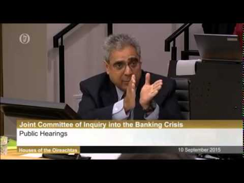 Joint Committee of Inquiry into the Banking Crisis  - Joe Higgins' speech