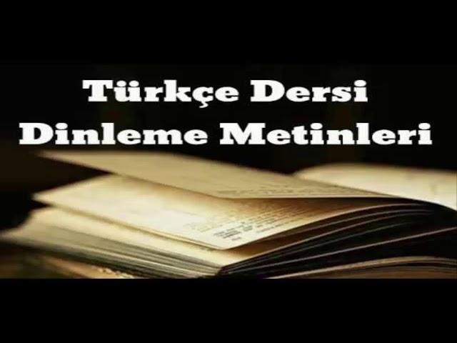 Sihirli Pasta  6  Sınıf Eksen Yayıları Türkçe Dersi Dinleme Metni