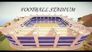 Minecraft Pe de Müthiş Futbol Stadyumu