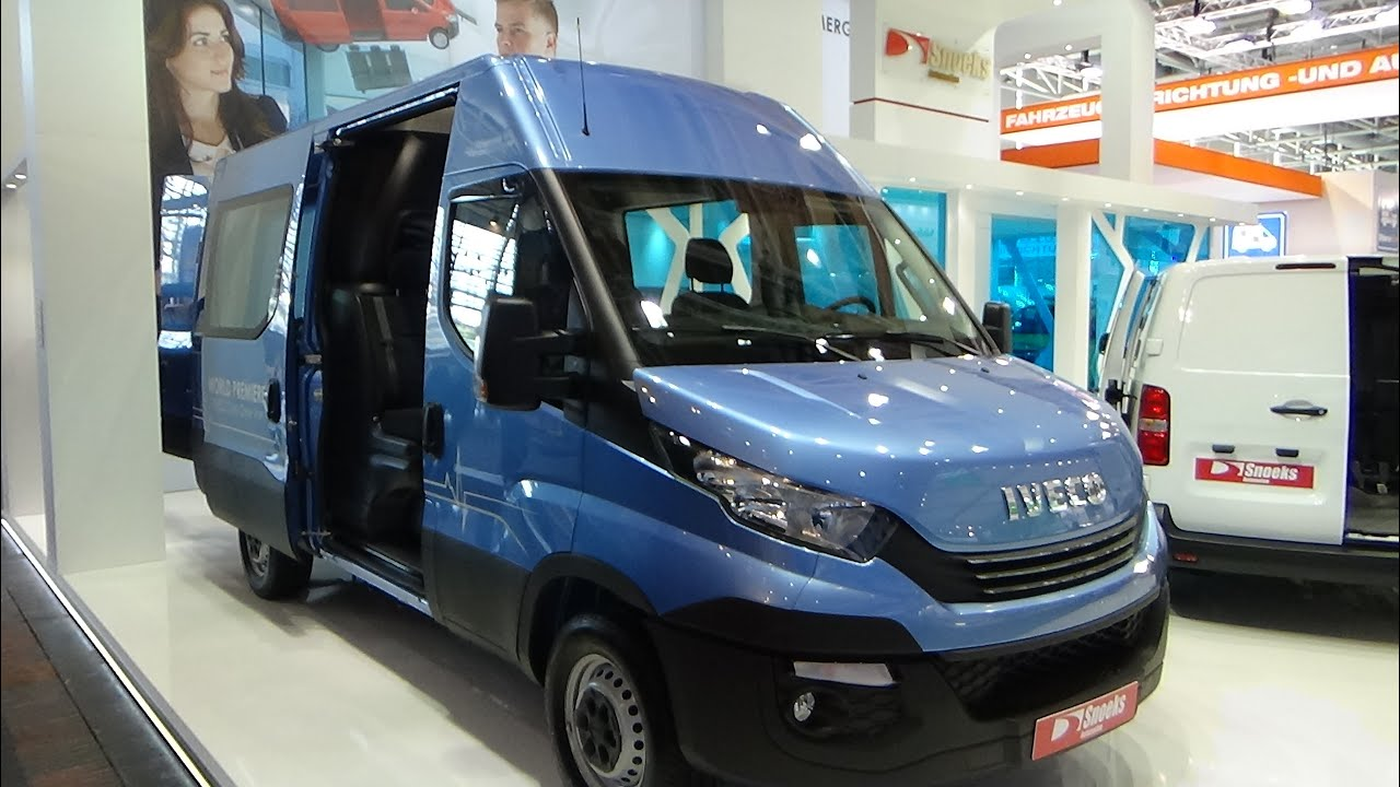 2017 Iveco Daily Crew Van - Exterior and Interior - IAA Hannover ...