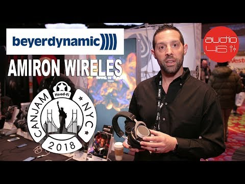 Beyerdynamic Amiron Wireless, CanJam NYC 2018