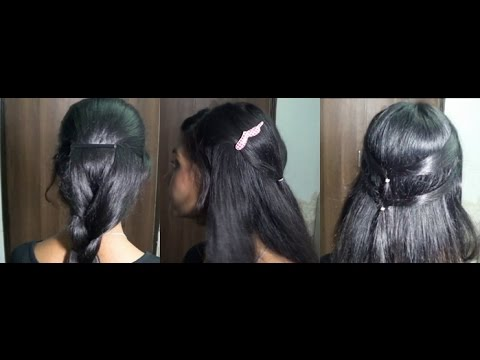 3 Easy Indian Inspired Hairstyles Youtube