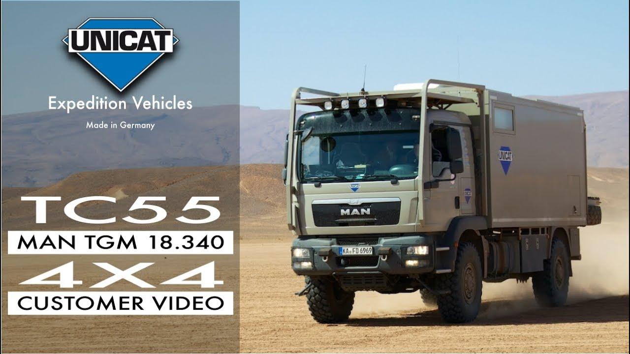 UNICAT Expedition Vehicles - Terracross TC55 confort Plus MAN TGM18 ...