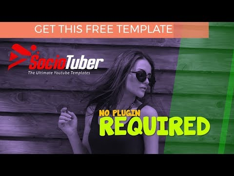 SocioTuber Free PowerPoint Template & Tutorial