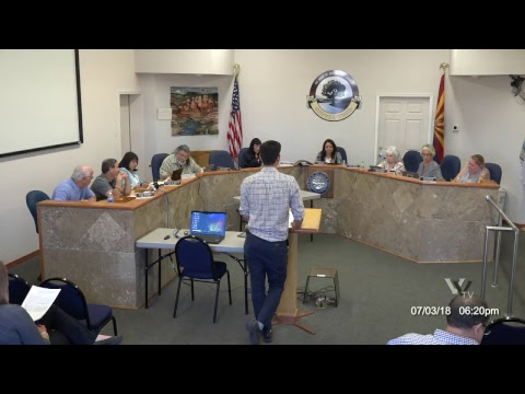 Cottonwood City Council Regular Meeting July 3 2018