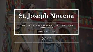 St. Joseph Novena - Day 1