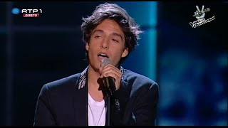 "Luís Sequeira - ""Somewhere only we know"" Keane - Gala 3 - The Voice Portugal"