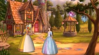 Игра Барби Принцесса и Нищенка Создание витража для библиотеки