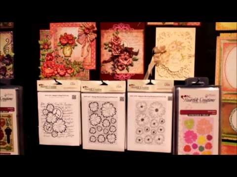 Heartfelt Creations CHA 2014 Booth Majestic Morning Collection