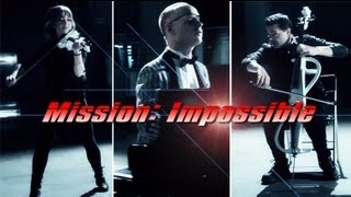 Repeat youtube video Mission Impossible (Piano/Cello/Violin) ft. Lindsey Stirling - The Piano Guys