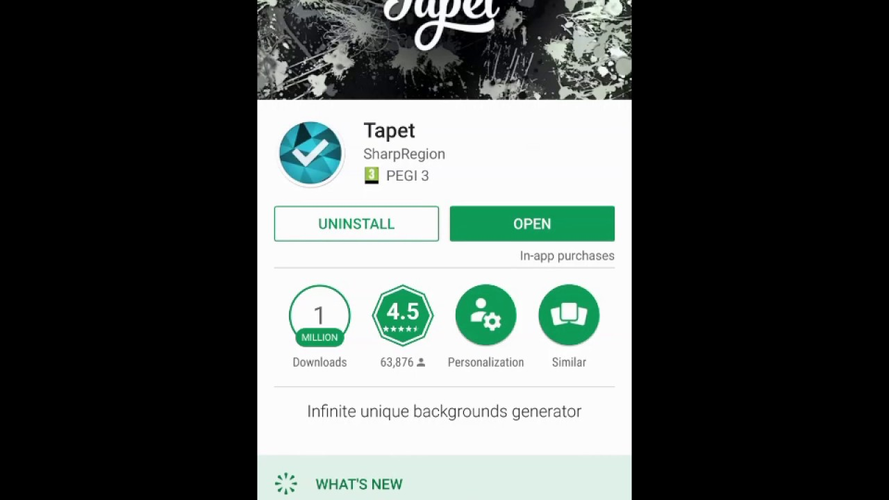 Tapet for android a background generator and unique color manager tapet for android a background generator and unique color manager voltagebd Image collections