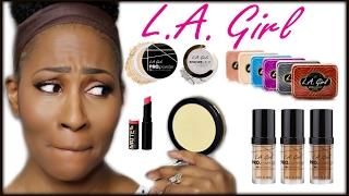One Brand Tutorial⎮LA Girl Cosmetics