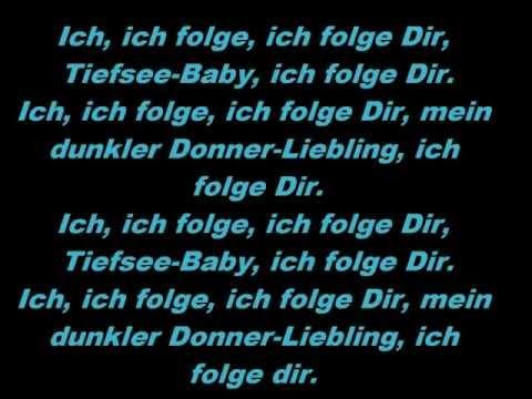 i follow rivers lyrics deutsch
