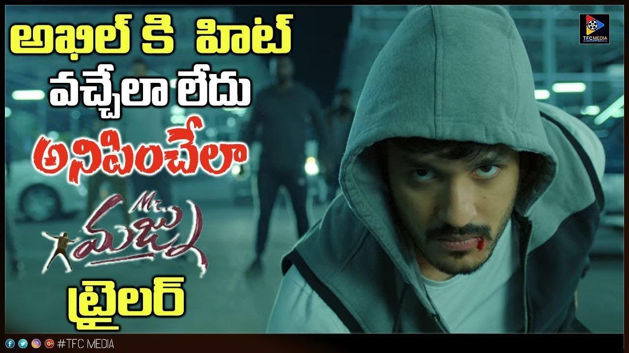 Once Again Akhil Not Hit Mister Majnu Movie Trailer