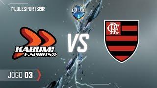 CBLoL 2018: KaBuM x Flamengo (Jogo 3) | Fase de Pontos - 2ª Etapa