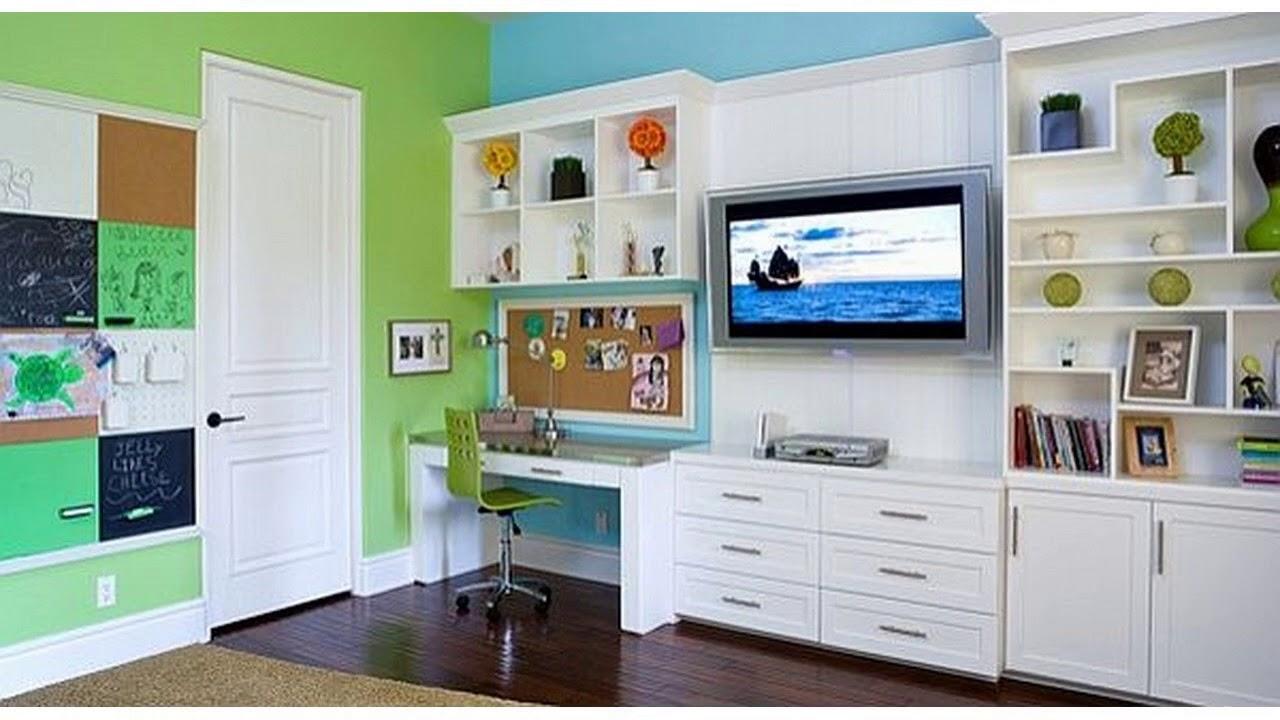 Ideas para decorar la habitación de estudio para niños - YouTube