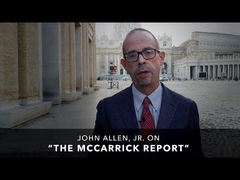 """John Allen, Jr. on """"The McCarrick Report"""""""