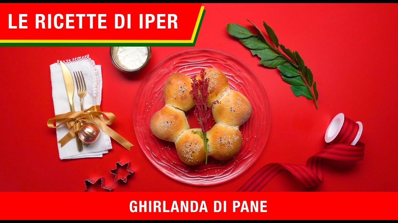 Centrotavola natalizio: Ghirlanda di Pane | Le ricette di ...