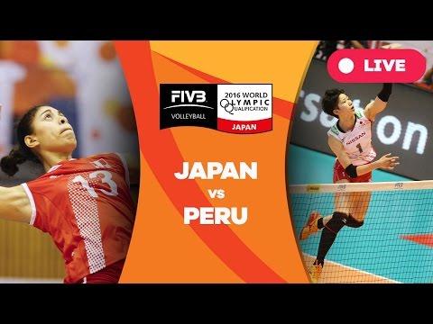 Japan v Peru - 2016 Womens World Olympic Qualification Tournament