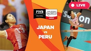 Japan v Peru - 2016 Women's World Olympic Qualification Tournament